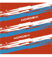 Бафф NORDSKI Stripe Red/Blue (NSV409987)